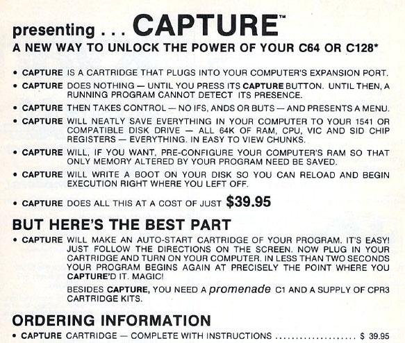 Capture Cartridge - C64 Copy ProtectionC64 Copy Protection