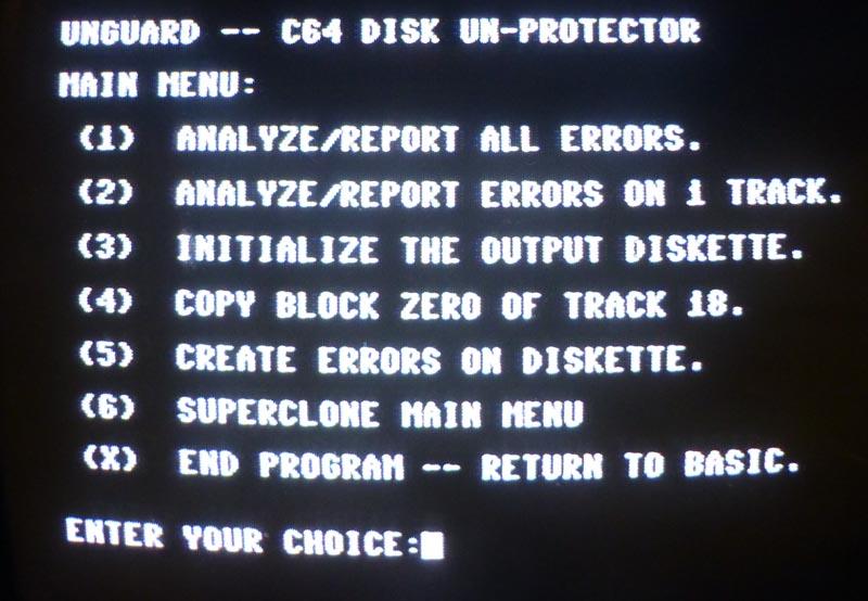 Clone Machine - C64 Copy ProtectionC64 Copy Protection