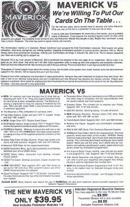 Maverick v5 (1990)