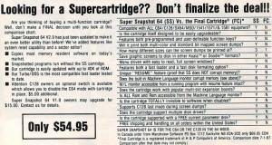 Super Snapshot vs FC(1987)