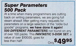 Super Parameters (1987)