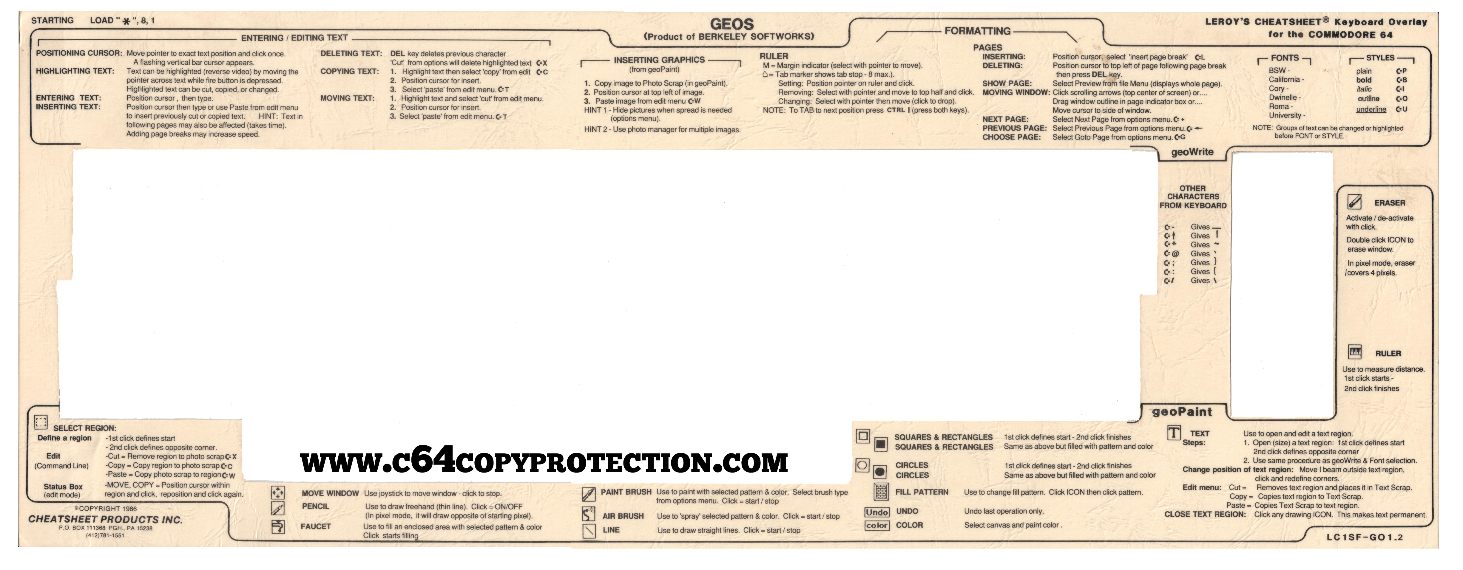 C64 Copy Protection - Documenting the History of the